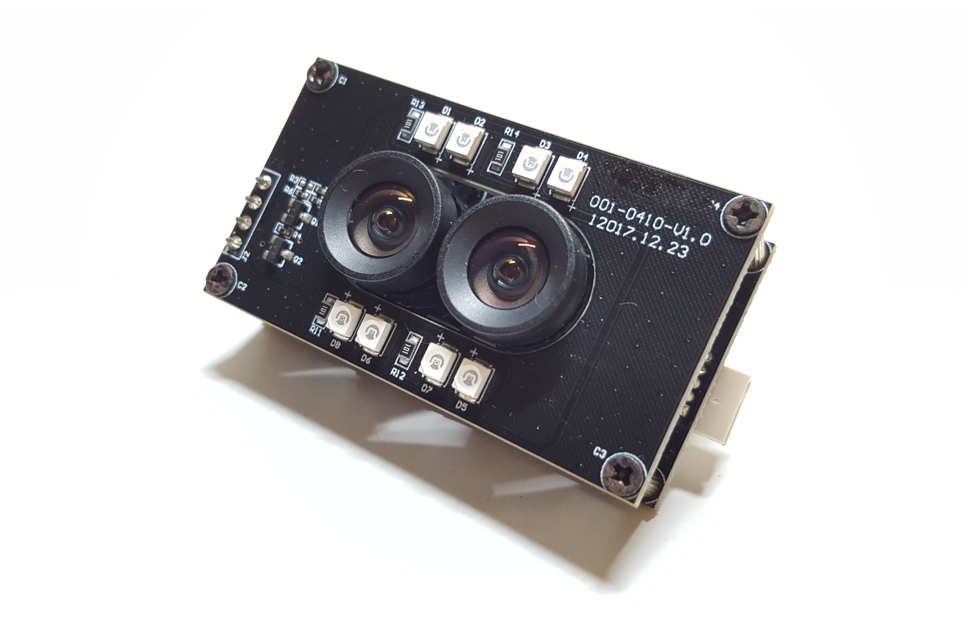 2MP, Stereo Vision, RGB & IR images, Dual-lens Camera Module with Omnivision OV2710 sensor